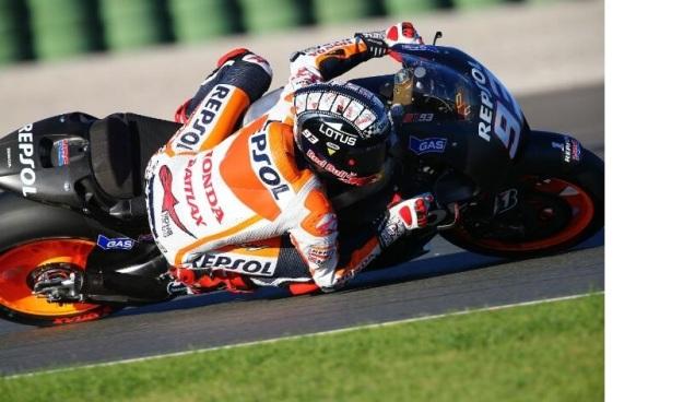 Marc Marquez-Tercepat Test MotoGP Valencia 2013