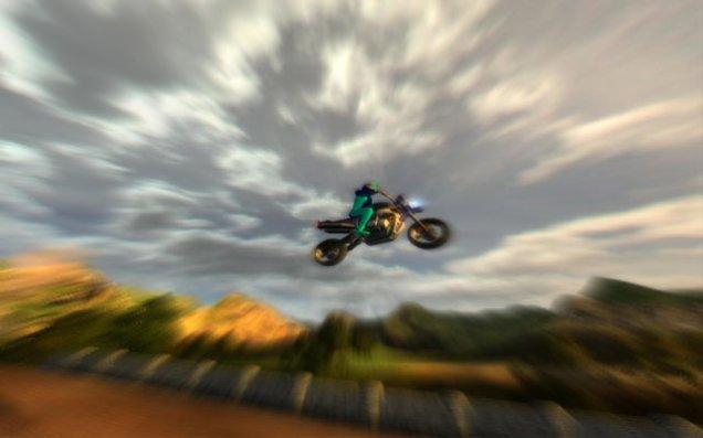 Motor terbang