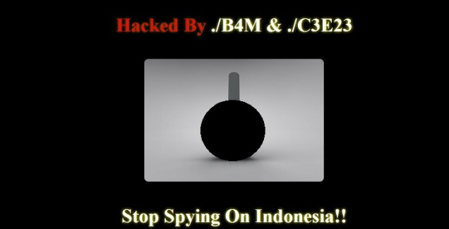 Perang Hacker Indonesia Vs Hacker Australia