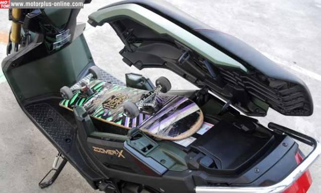 Honda Zoomer-X Bagasi