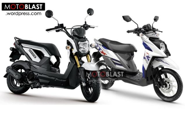 Honda Zoomer-X Dan Yamaha X-Ride
