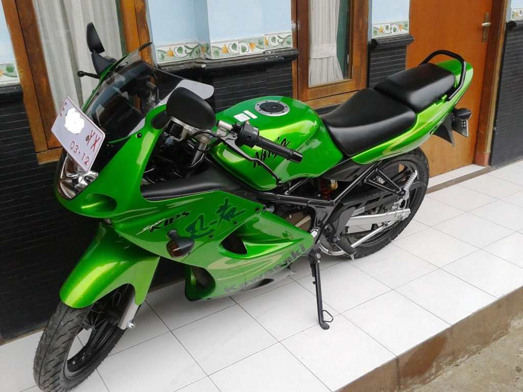 Cara Pasang Plat Nomor Ninja Rr Dibelakang Windshield Visor Kawasaki 150 New