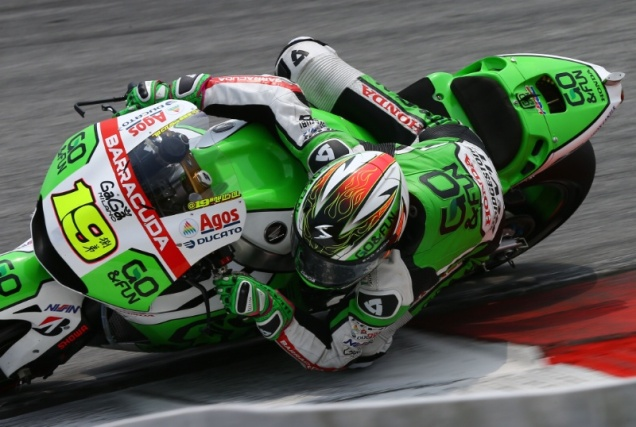 Alvaro Bautista-Tercepat Test MotoGP Sepang 2