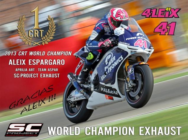 Aleix Espargaro-Juara CRT MotoGP 2012 dan 2013