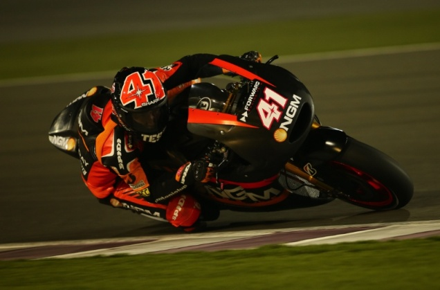 Aleix Espargaro-Tercepat Test MotoGP Qatar 2014 (hari ke-1)