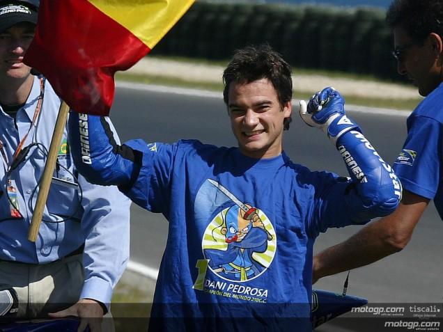 Dani Pedrosa-Juara Dunia 250cc Tahun 2004