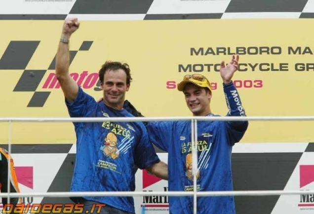 Dani Pedrosa-Juara Kelas 125cc Tahun 2003