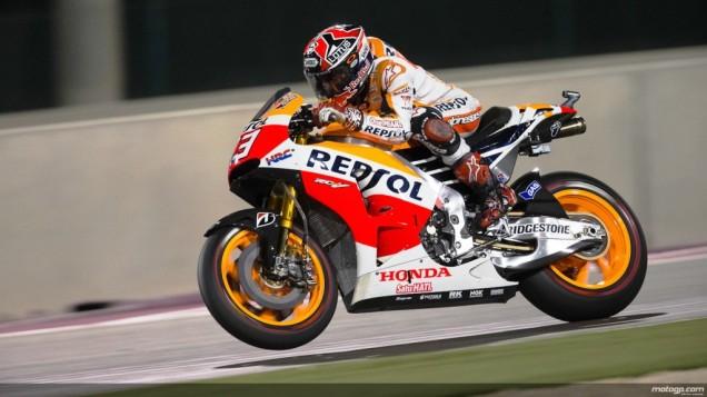 Marc Marquez-Juara Race MotoGP Qatar 2014