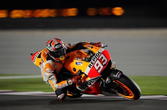 Marc Marquez-Pole Position MotoGP Qatar 2014