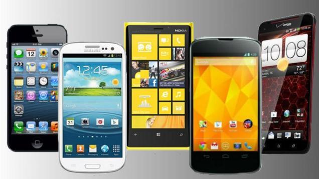 Market Share Handphone di Indonesia