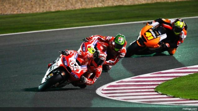 Pembalap Ducati dan Aleix Espargaro