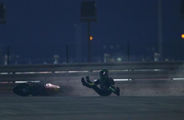 Pol espargaro-Terjatuh Tapi nomor 2 Tercepat