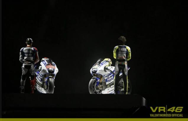 Yamaha M1 Rossi dan lorenzo