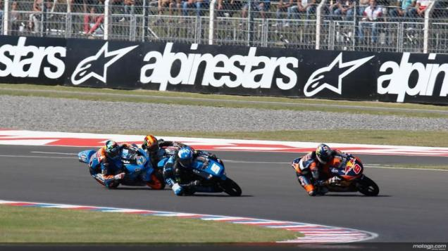 Battle Perebutan Posisi Ke-1-Moto3 Argentina 2014
