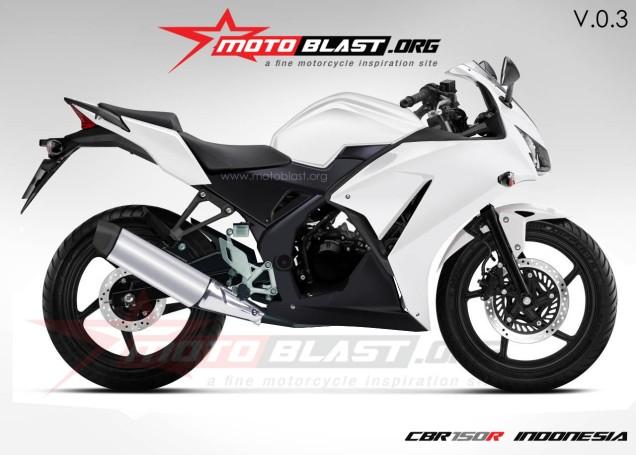 Honda CBR 150R Indonesia-Sumber Motoblast.org