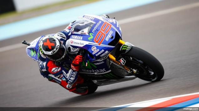 Jorge Lorenzo-Podium 3 MotoGP Argentina 2014