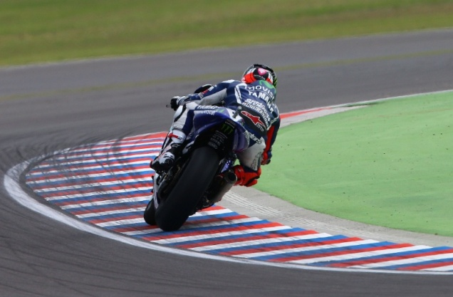 Jorge Lorenzo-Posisi ke-2 kualifikasi MotoGP Argentina 2014