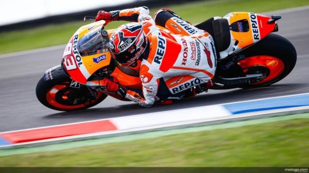 Marc Marquez Cetak Hatrick Di MotoGP Argentina 2014