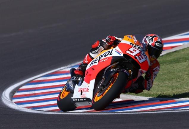 Marq Marquez-Pole Position MotoGP Argentina 2014