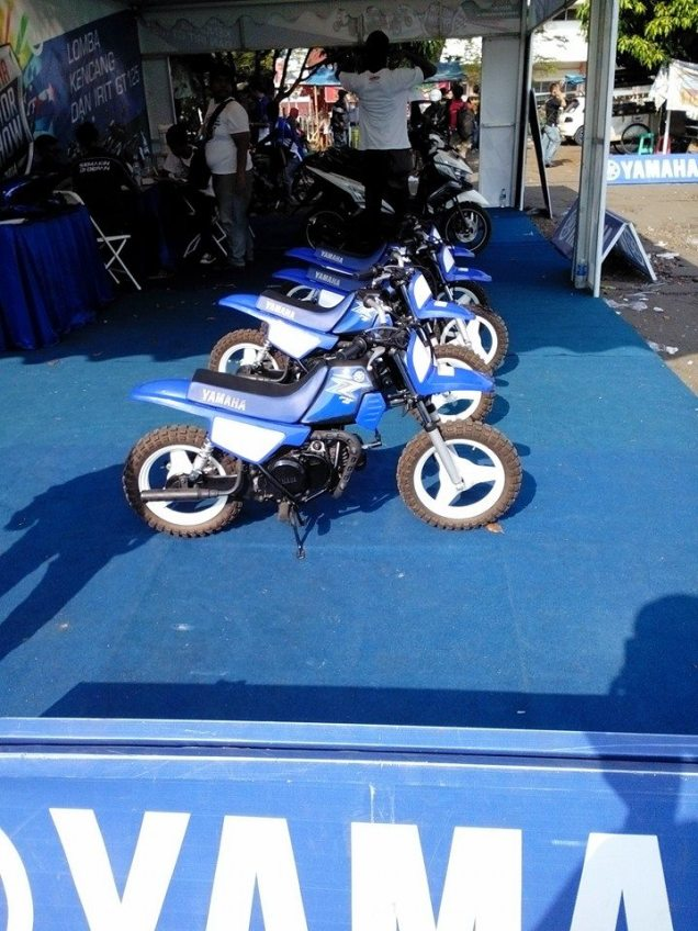 Motor Mini Yamaha 50cc-Jepretan Bro Kazekage Ivan