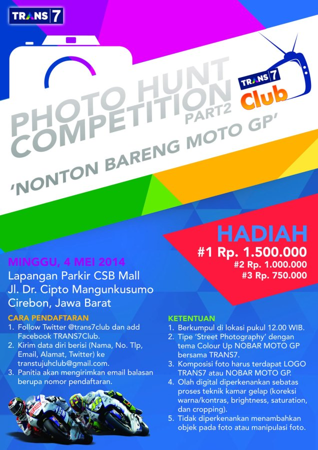 Nonton Bareng MotoGP Di CSB Mall Cirebon