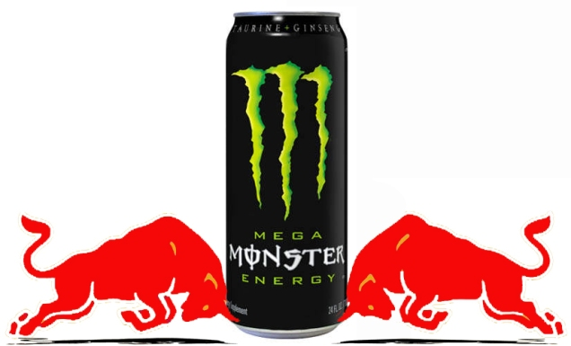 Red Bull Vs Monster Energy