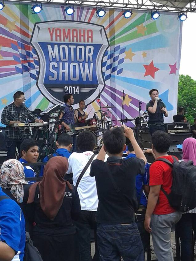 The Titans Di Yamaha Motor Show 2014 Cirebon