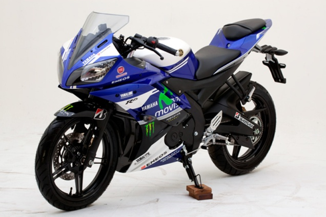 Yamaha R15-Special Edition Livery Movistar Yamaha MotoGP