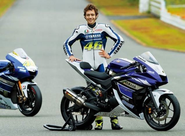 Yamaha R25-With Valentino Rossi