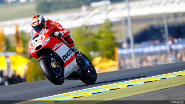 Andrea Dovizioso-Posisi ke-3 Kualifikasi MotoGP Le Mans Perancis 2014
