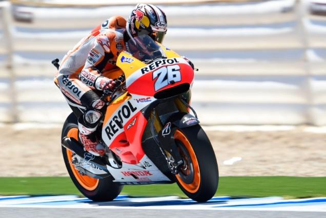 Dani Pedrosa-Posisi ke-3 Kualifikasi MotoGP Jerez Spanyol 2014