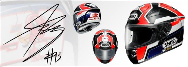 Hadiah Utama MotoGP League-Helm plus tanda tangan Marquez
