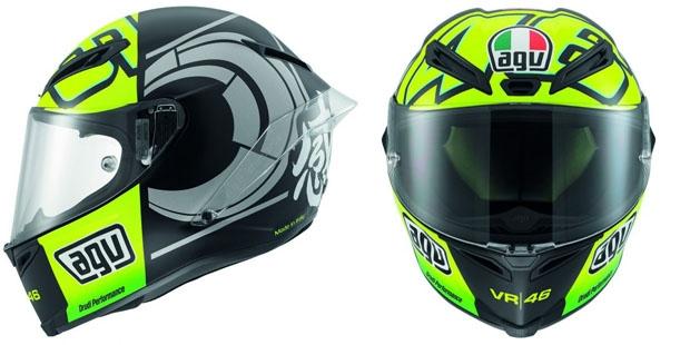 Ilustrasi Helm AGV Rossi Bonus Indent Online R25