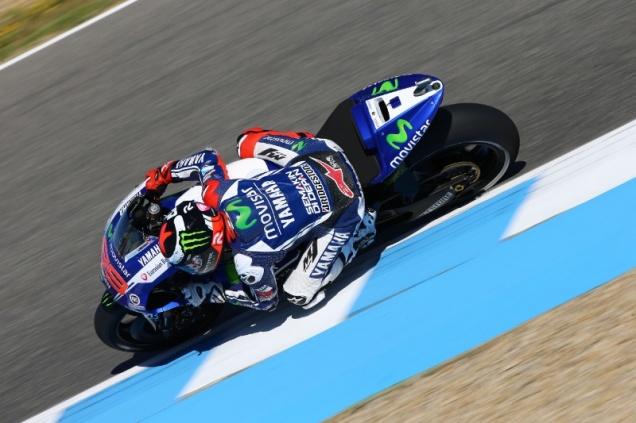 Jorge Lorenzo-Posisi ke-2 Kualifikasi MotoGP Jerez Spanyol 2014