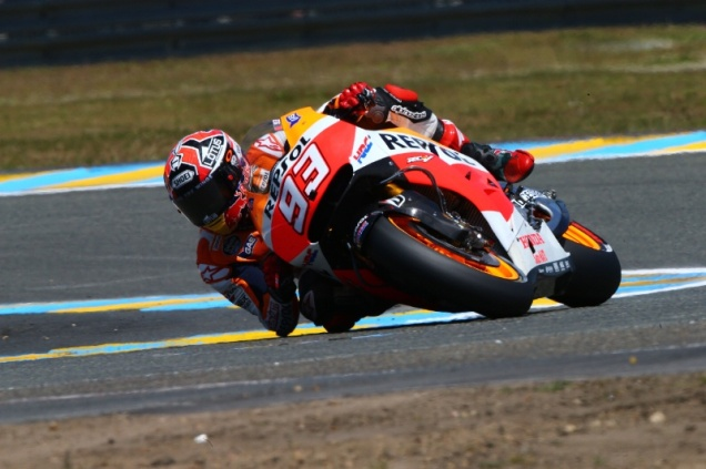 Marc Marquez-Pole Posisition Di Kualifikasi MotoGP Le Mans Perancis 2014