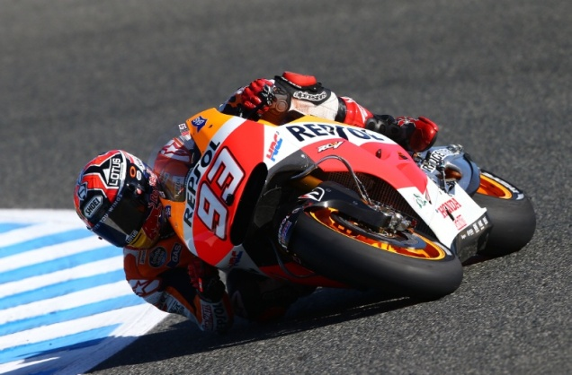 Marc Marquez-Quatrick Pole Di MotoGP Jerez Spanyol 2014
