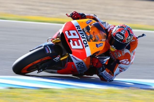 Marquez Quatrick di Race MotoGP Jerez 2014