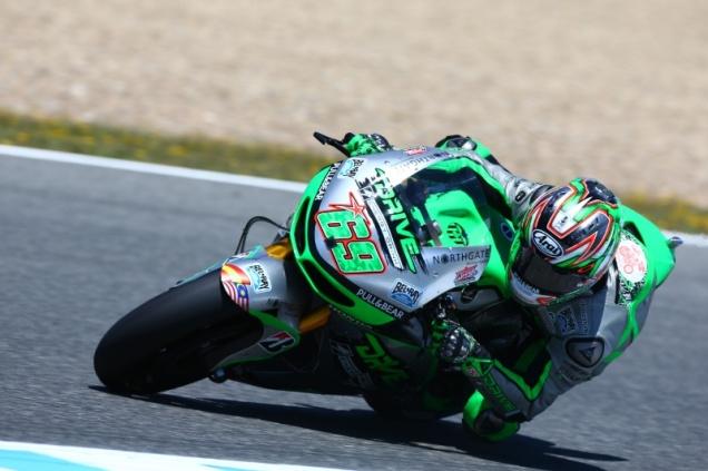 Nicky Hayden-Tercepat di Q1 MotoGP Jerez Spanyol 2014