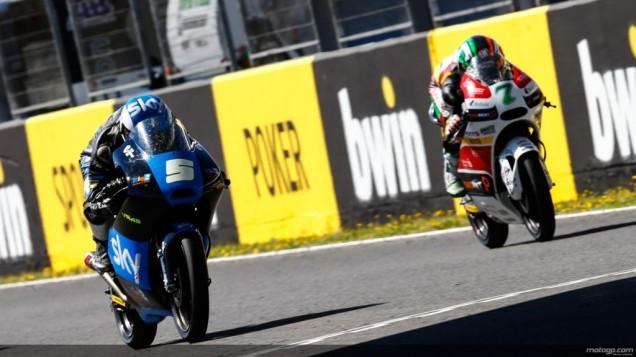 Romano Fenati dan Vasquez-Garis finish Last Lap Moto3 Jerez 2014