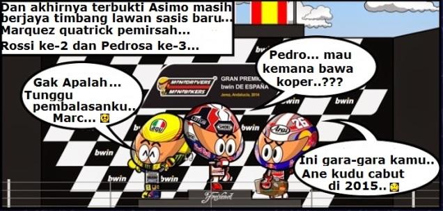 Podium Jerez 2014-Pedrosa Bawa Koper.. :D