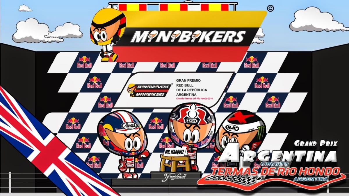 Video Kartun MotoGP Argentina 2014, Marquez... Caramba... :cool: