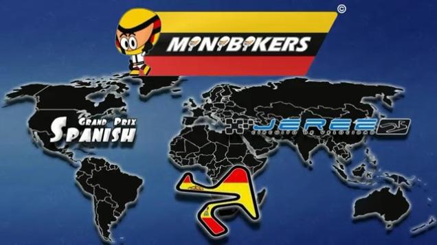 Video Kartun MotoGP Jerez 2014