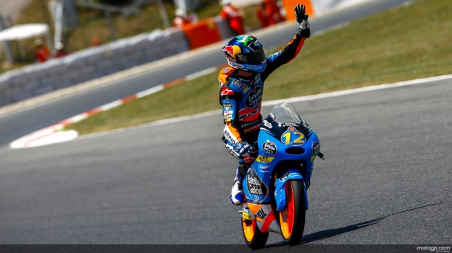 Alex Marquez-Juara Race Moto3 Catalunya 2014