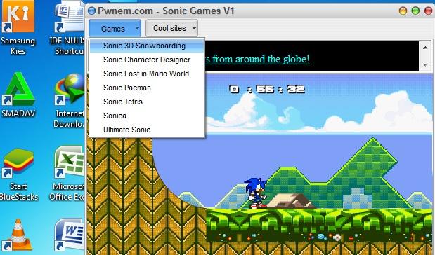 Berbagai Pilihan Game Sonic