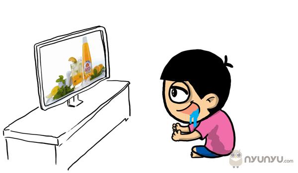 Awas.. jangan nonton TV...!!! :D