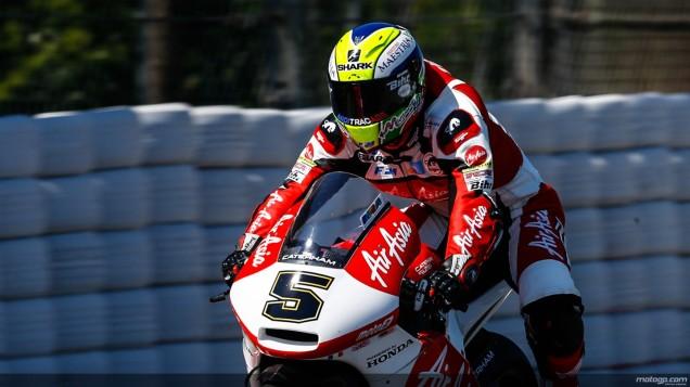 Johann Zarco-Podium 3 Race Moto2 Catalunya 2014