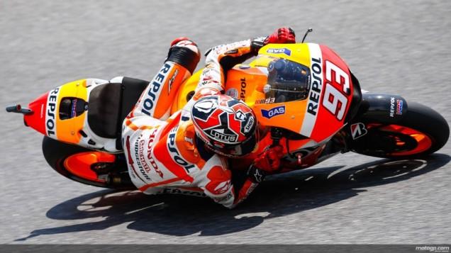 Marc Marquez-Posisi ke-3 Kualifikasi MotoGP Catalunya 2014