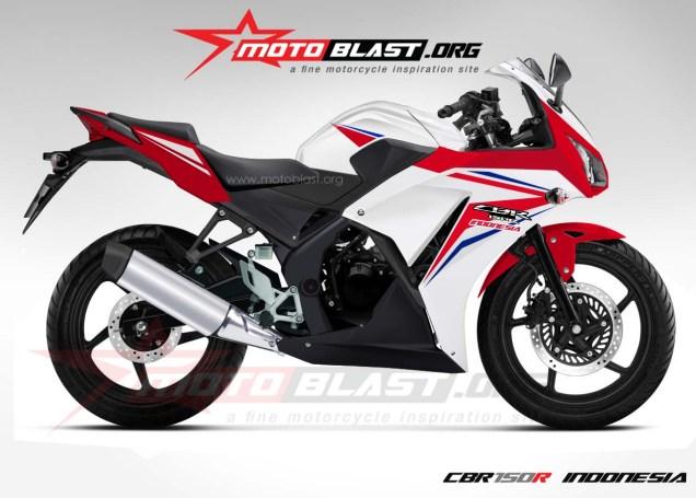 Renderan Honda CBR 150R Lokal-Sumber Motoblast