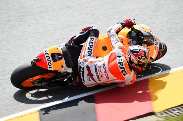 Marc Marquez-Pole Position MotoGP Sachsenring 2014 Foto yang bening :D
