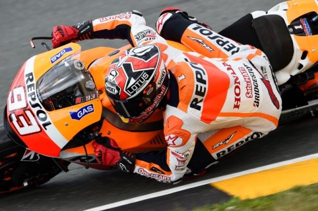 Marquez-Juara Race MotoGP Sachsenring 2014